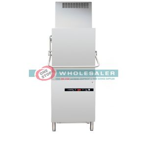 Comenda PC07R-CRC Prime Line Series Commercial Pass Through Dishwasher With In-Built Hood / Heat Exchanger