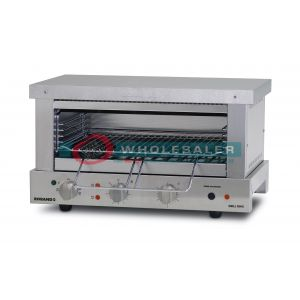 Roband GMW815E Grill Max Wide-Mouth Toaster 8 Slice, 15 Amp