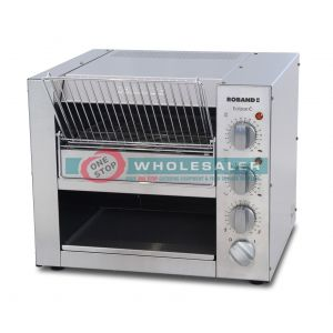 Roband ET315 Eclipse Bun & Snack Toaster,  14 Amps