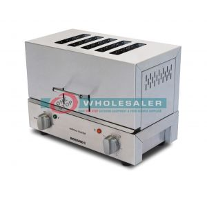 Roband TC55 Vertical Toaster, 5 Slice