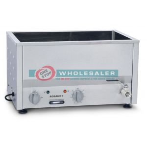 Roband BM2 Counter Top Bain Marie 2 x 1 / 2 size, pans not included
